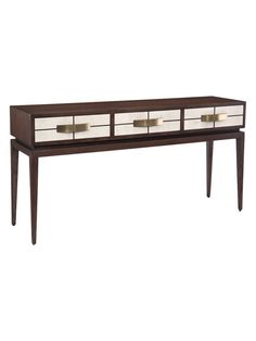 Allegro 3-Drawer Console Table from John Richard: Furniture, Lighting