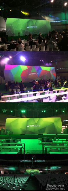 #Mapping Convention #Herbalife 2015 #Stage