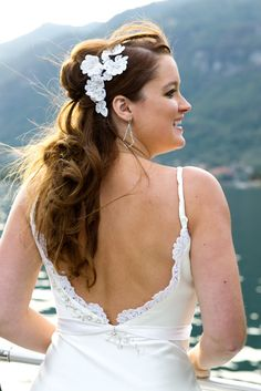 Lace Wedding Dress - #lace #weddinggown #dress