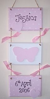 Precious Parcels - Childrens gifts, door plaques, name plaques, keepsakes and more
