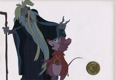 The Secret of NIMH Animation Cel #Bluth #DonBluth #Nicodemus Animation Storyboard, Animation Cel, Animation Movies, Disney Animation, Disney Cartoons, Disney Pixar, Character Concept, Character Design, The Secret Of Nimh