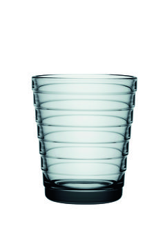 Aino Aalto (1932) tumblers - beautiful grey color. Aino Aalto designed functionalism-inspired housewares for contemporary homes.