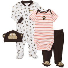 Carters Baby Boys 4-Piece Outfit Set...    $15.60