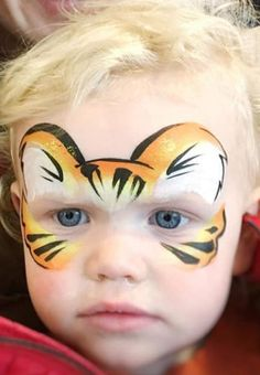 Kinderschminken Keeping Your Children Busy When You Work From Home Article Body: Juggling children a Disney Face Painting, Princess Face Painting, Painting For Kids, Easy Face Painting Designs, Tiger Face Paints, Animal Paintings, Face Paintings, Name Art, Maquillage Halloween