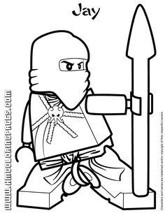 Ninjago Ausmalbilder Ausmalbilder Für Kinder Ninjago Pinterest