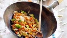Gemüsegerichte Fried Rice, Fries, Pizza, Ethnic Recipes, Food, Cooking, Veggie Food, Essen, Meals