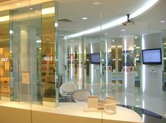 Zell V Platinum Retail Store in Singapore designed by Visual Spaces Pte Ltd