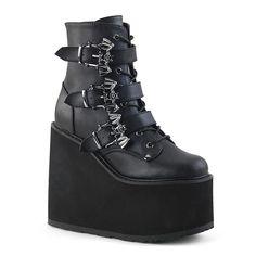 abfd4edb373 SWING-103 Demonia Gothic Platform Boots Goth Platform Boots