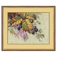 Blackberries Counted Cross Stitch Kit