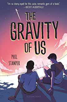 The Gravity of Us. ''I'm so starry-eyed for this wise, romantic gem of a book.'' - Becky Albertalli, bestselling author of Simon vs. Ya Books, Good Books, Books To Read, Becky Albertalli, Best Comic Books, Cinema, Ya Novels, Reality Tv Shows, First Novel