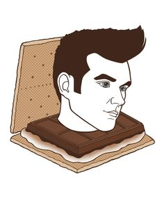 s'morrissey print  Almost as yummy as the real thing.  #Morrissey