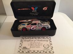NASCAR Mark Martin 1:24 Die Cast  by Racing Champions  COA 1 of 6900 #RacingChampions #StockCar