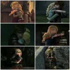 Every Hiccstrid Hug ❤❤❤❤