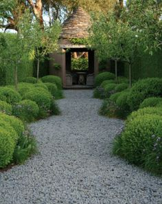 Garden design with gravel and stones - 25 garden ideas for you - landscaping gravel landscaping ideas plants garden furniture -
