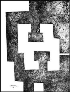 Bid now on La Nuit (from Le Plus Beau Cadeau) by Eduardo Chillida. View a wide Variety of artworks by Eduardo Chillida, now available for sale on artnet Auctions. Miro, Action Painting, Contemporary Abstract Art, Sketch Inspiration, Abstract Drawings, Famous Art, Land Art, Abstract Sculpture, Magazine Art