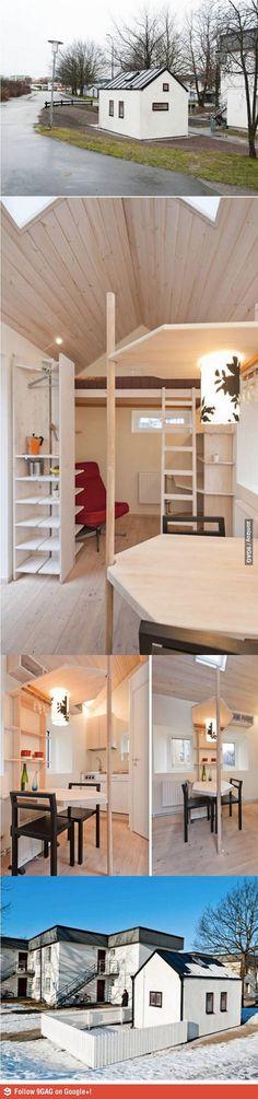 Apartamento tipo estudio; chute