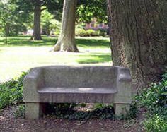 The Davie Poplar bench.
