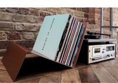 Vinyl Record Storage | LP Holder | Record Shelf | Vinyl Storage | Vinyl stand | Vinyl Shelf | Book Shelf | Record Player | Record Display will blend perfectly with your environment and will be your perfect home decor element. Get creative with album storage. Unlike the digital music files
