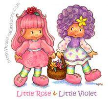 Little Rose & Little Violet