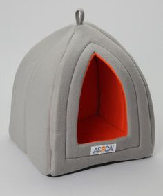 Take a look at this Gray Pet Hut by ASPCA on #zulily today!