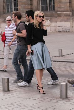 París Je T´aime - StreetStyle - Moda Primavera Verano 2012 - Lo último en tendencias, glamour y celebrities - ELLE.ES