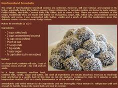 Newfoundland Snowballs