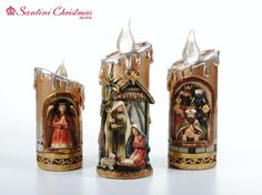 Nacimiento / Nativity Set Candels, Make Your Mark, Nativity, Christmas, Home, Carved Candles, Births, Roof Tiles, Nativity Scenes