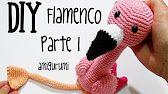 Amigurumi Tutorial, Crochet Amigurumi Free Patterns, Crochet Dolls, Crochet Stitches, Free Crochet, Tutorial Crochet, Crochet Flamingo, Crochet Birds, Flamingo Pattern
