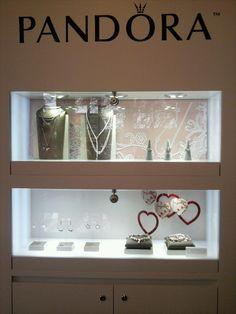 Pandora Valentines display