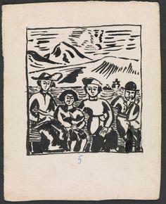 Balthus (Balthasar Klossowski), Mitsou, 1919, black ink on paper