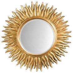 Sunburst Mirror - traditional - Mirrors - Inviting Home Inc