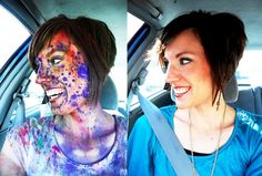 We're ready to see faces like this in @The Color Run ™ in #CLE