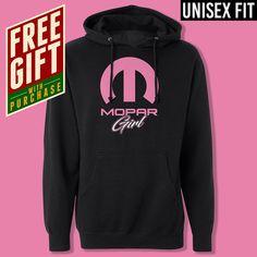 Mopar Girl Hoodie //// Black Hooded Sweatshirt //// Unisex Fit //// Adult S-3XL by GraphicArtWear on Etsy https://www.etsy.com/listing/577973783/mopar-girl-hoodie-black-hooded