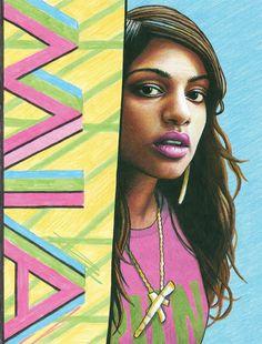 M.I.A by Maya Wild
