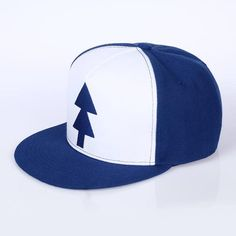 9358b274a7a VORON Gravity Falls Baseball Cap BLUE PINE TREE. Dipper Pines HatDad ...