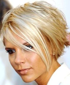 This might just be my next 'do...just not blonde.  :)