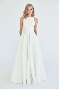 Galaxy 2.0 Gown from Suzanne Harward wedding dresses 2017 - Micro mesh with a 3-tier circular skirt. High reglan neckline. - see the rest of the collection on www.onefabday.com