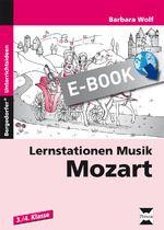 Lernstationen Musik: Mozart - E-Book