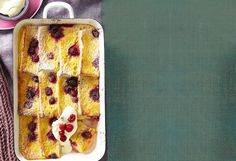 We love our bread, we love our butter – but most of all, we love bread and butter pudding! Whether you're after a chocolate pudding or a fruity version, we have what you need! Pudding Recipes, Pudding Ideas, Raspberry Bread, Lemon Bread, Bread And Butter Pudding, Winter Desserts, Chocolate Pudding, Sweet Recipes, Sweets