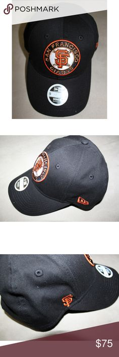 NEW ERA San Francisco Giants Baseball Cap SF RARE New Era SF Giants cap with embroidered logo from Victoria's Secret! New Era Accessories Hats