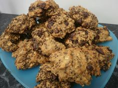 Red Quinoa and Chocolate Chip Cookies