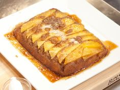 Upside-Down Pineapple Cake recipe from Spring Baking Championship via Food Network