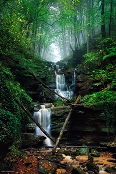 Fairy Falls by Kilian Schönberger on 500px  Saxony, Germany