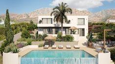 CA LA BRISA - Bataille Living Casa San Sebastian, Split Ac, Guest Toilet, Mediterranean Homes, Garden Trees, Green Garden, Lush Green, Native Plants, Modern Luxury