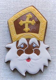 czech-mikulas-gingerbread-5 Czech Republic, Cookie Decorating, Gingerbread Cookies, Cookie Recipes, Decoration, Holiday, Christmas, Desserts, Beautiful