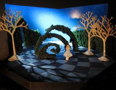 """Check out this @Behance project: """"Conceptual Scenic Design for """"Alice in Wonderland"""""""" https://www.behance.net/gallery/15180973/Conceptual-Scenic-Design-for-Alice-in-Wonderland"""