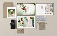 SALE Magazine Template for Wedding by designbybittersweet on Etsy