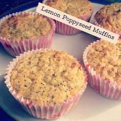 Ripped Recipes - Lemon Poppyseed Muffins - Healthy and delicious muffins!