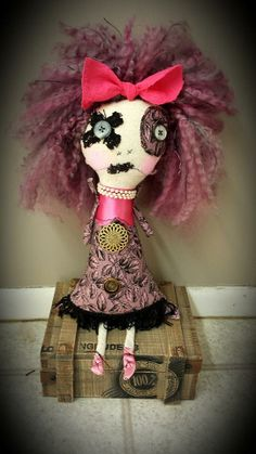 Find more dolls like this at http://www.facebook.com/SalvagedSoulsDolls