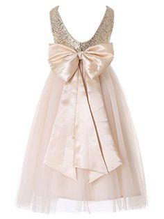 Bow Dream Flower Girl's Dress Sequins Gold 10 Bow Dream http://www.amazon.com/dp/B018E69TM6/ref=cm_sw_r_pi_dp_.qWrxb03D4S2A